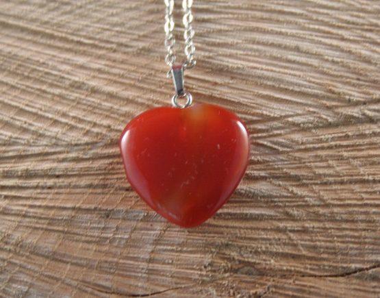 rood oranje hart