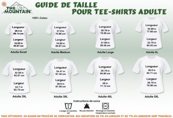 size t-shirt